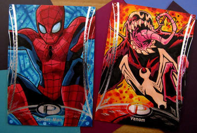 Marvel Premier Spider-man Venom by KidNotorious