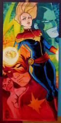 Marvel Premier Captain Marvel by KidNotorious