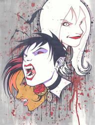 Vampire Girls by KidNotorious