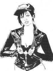 Punk Rock Chick by KidNotorious