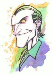 Joker sketch by KidNotorious