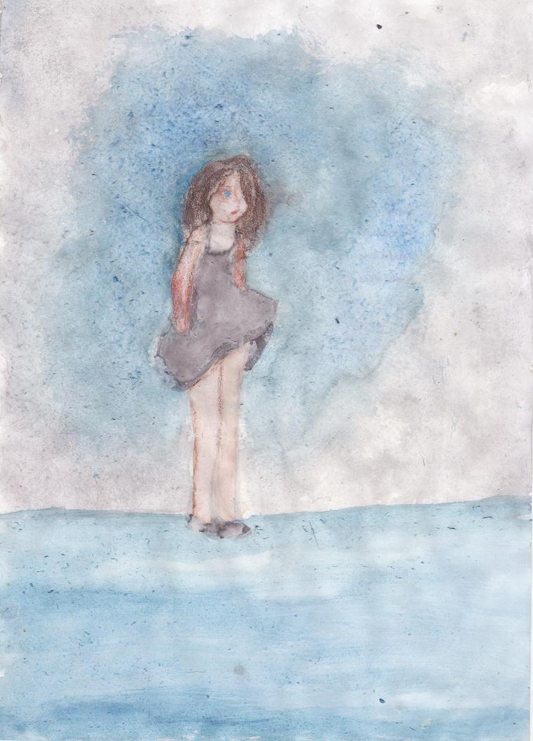 Blue by LittleAmeba