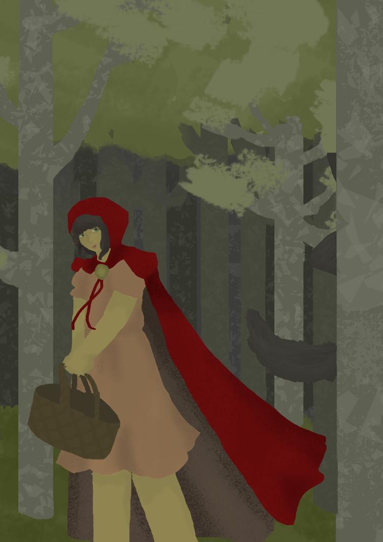 Red Riding Hood by LittleAmeba