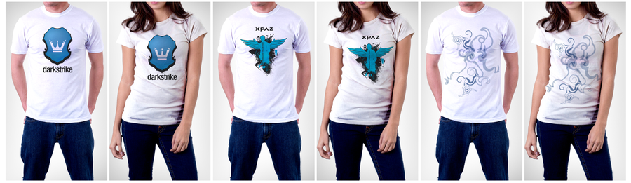 T-shirts pack1 by xPAz on deviantART