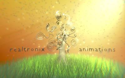 RealTronix Tree Logo by blenderhilfe