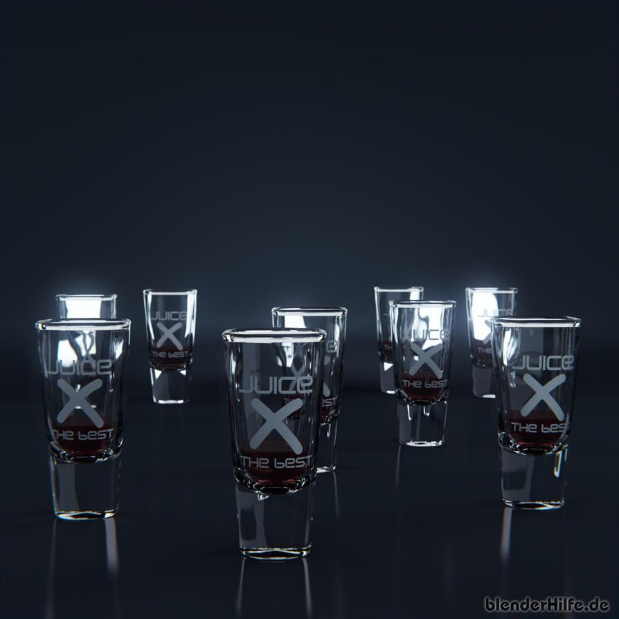 X Juice Clean 3D by blenderhilfe