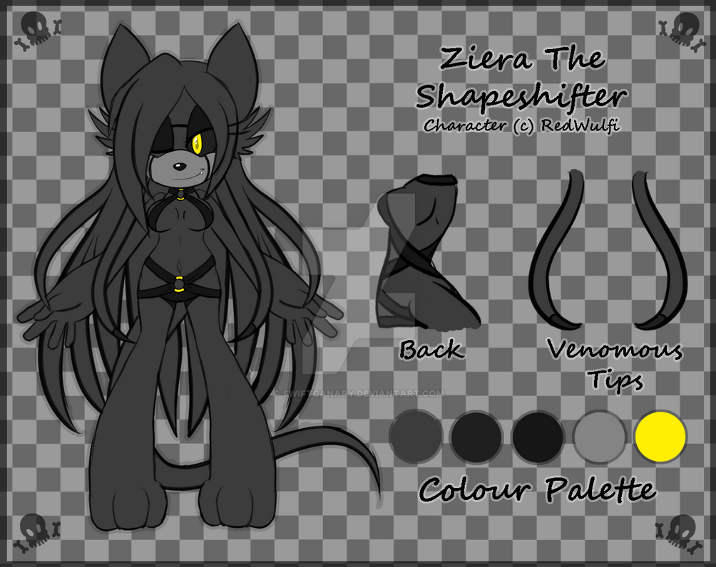 [Reference] Ziera The Shapeshifter by Ciara-TH