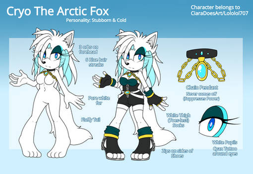 Cryo the Arctic Fox 2019