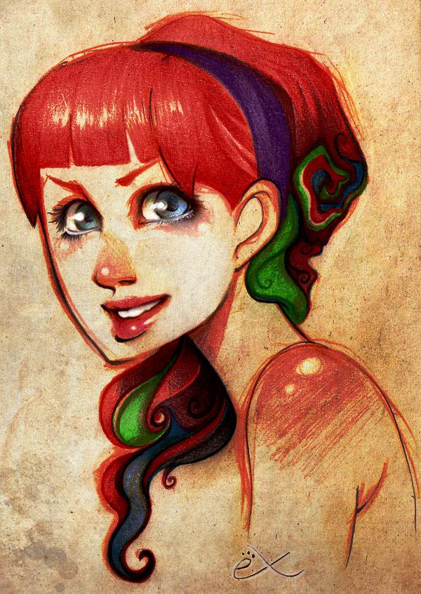 Sonrisa de Colores. by Exanarkia