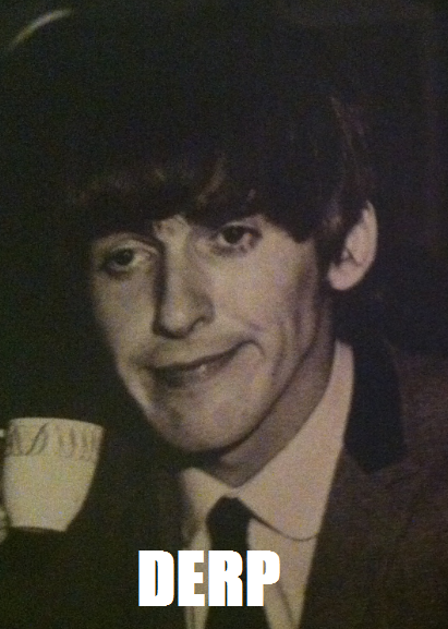 George Harrison-Derp by TwilightthePony23