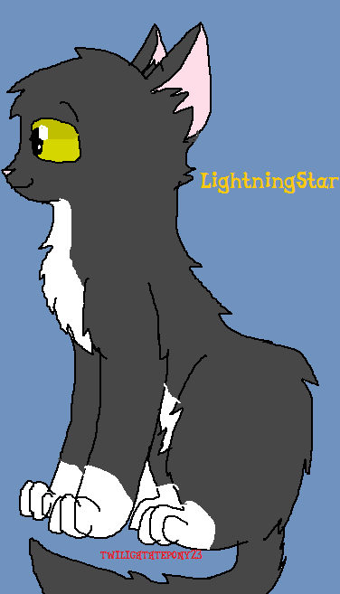 LightningStar Art Trade by Its-Mousepelt