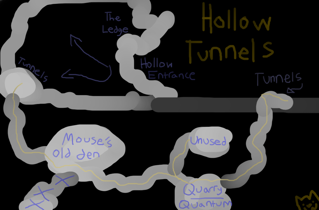 Hollow Tunnel Systems by Its-Mousepelt