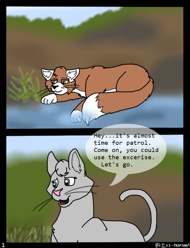 Long Away Pg. 1 by Its-Mousepelt