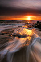 Southwold Beach Sunrise 4. by Wayne4585