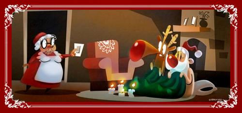 Christmas Card by Arashocky