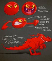 Pigments - Red by Arashocky
