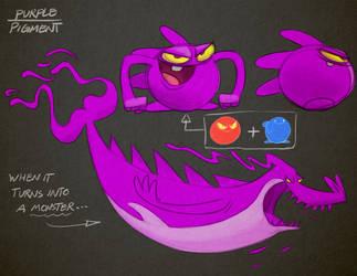 Pigments - Purple by Arashocky