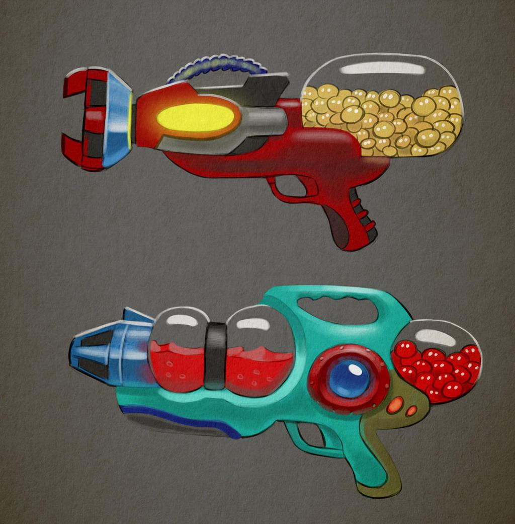 Pigments - Guns by Arashocky