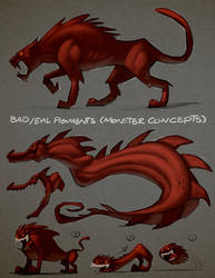 Pigments - Bad pigments (Monster concepts) by Arashocky