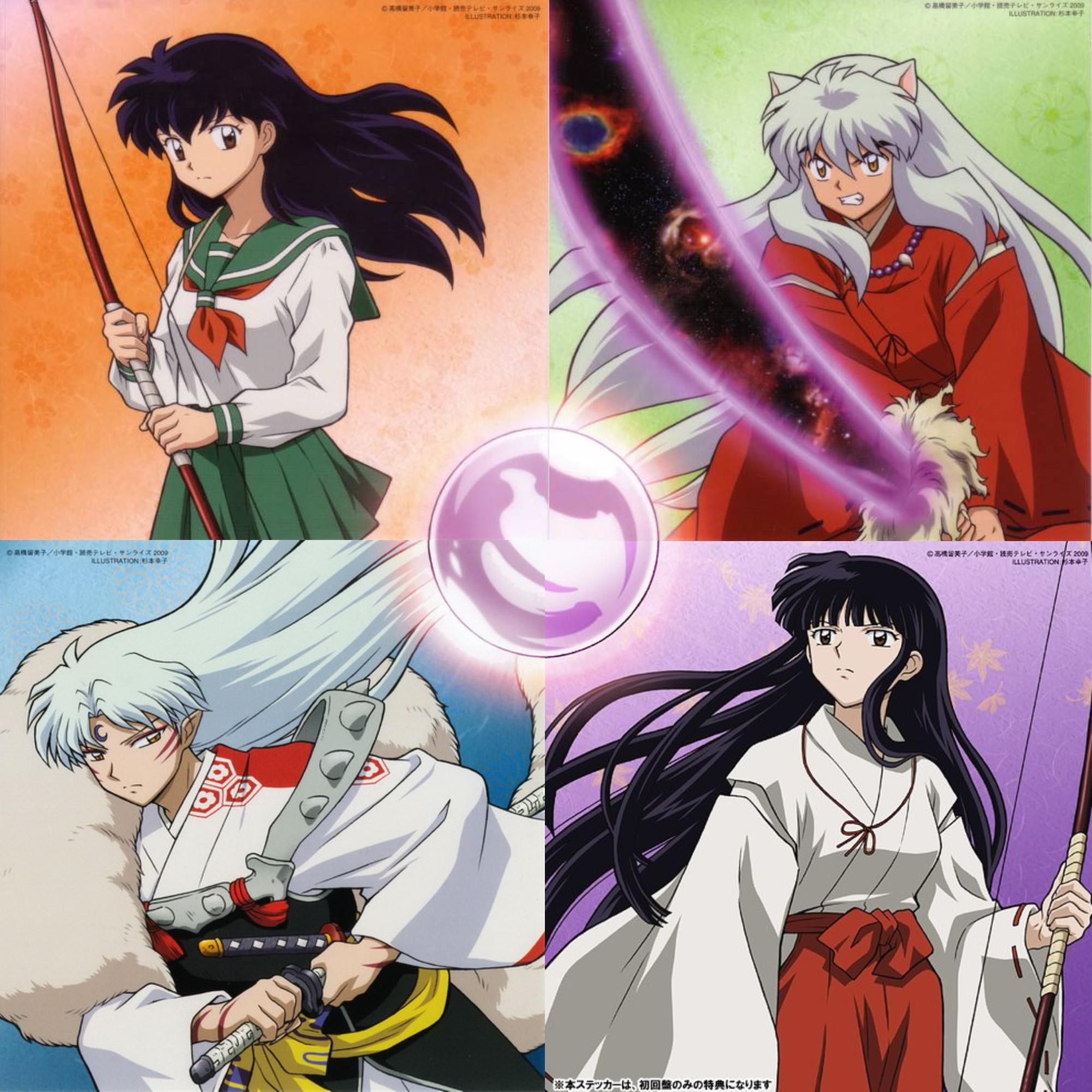 Inuyasha final act Art CDs by LuciaRyuu1994 on DeviantArt