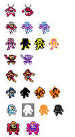 Megaman Powered Up Weakness Reactions