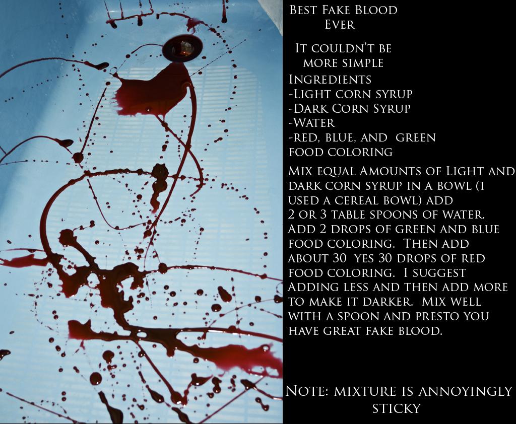 Best Fake Blood Ever by Blue-Mayhem