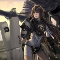 CG Girl 45 by iDNAR