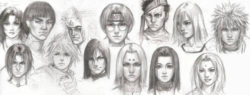 Naruto Group by iDNAR
