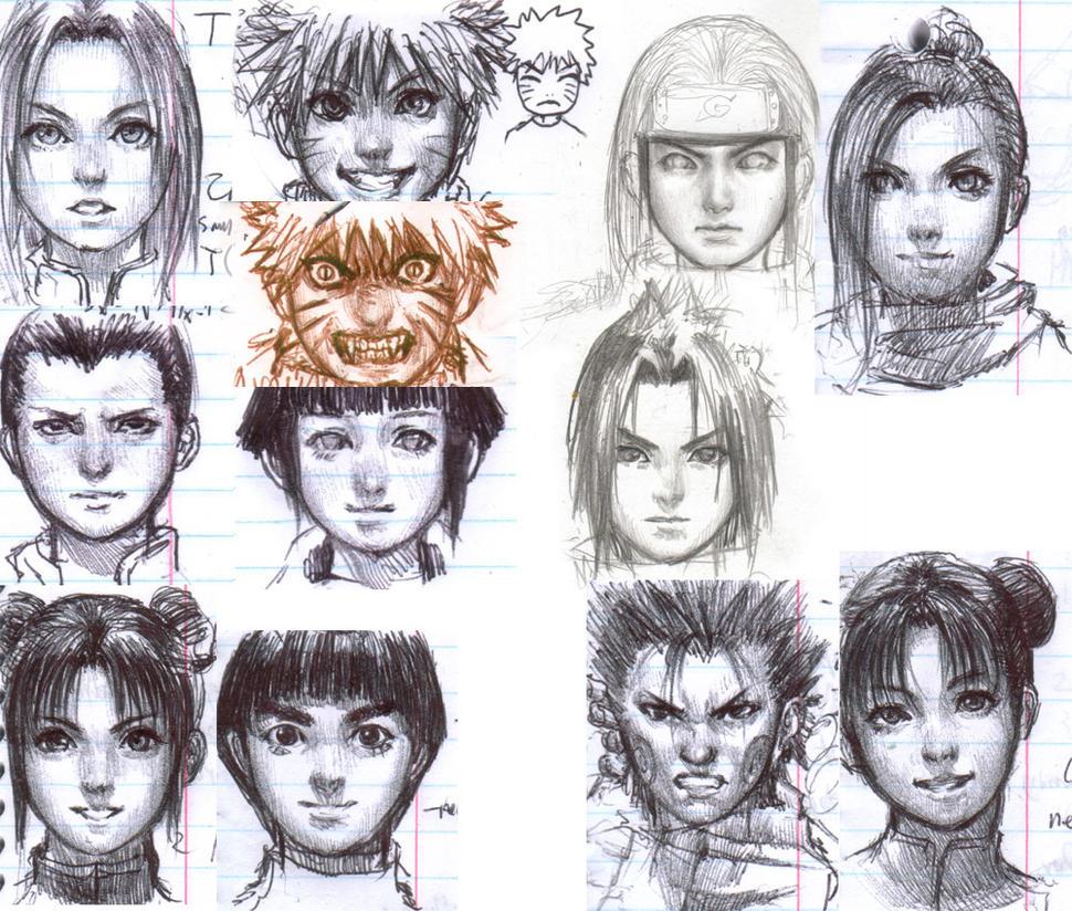 Naruto Group 2 by iDNAR