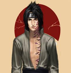 CG Evil Sasuke by iDNAR