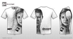 dA T-shirt 'Flow'
