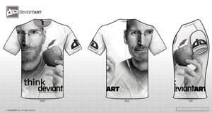 dA T-Shirt 'Think Deviant'