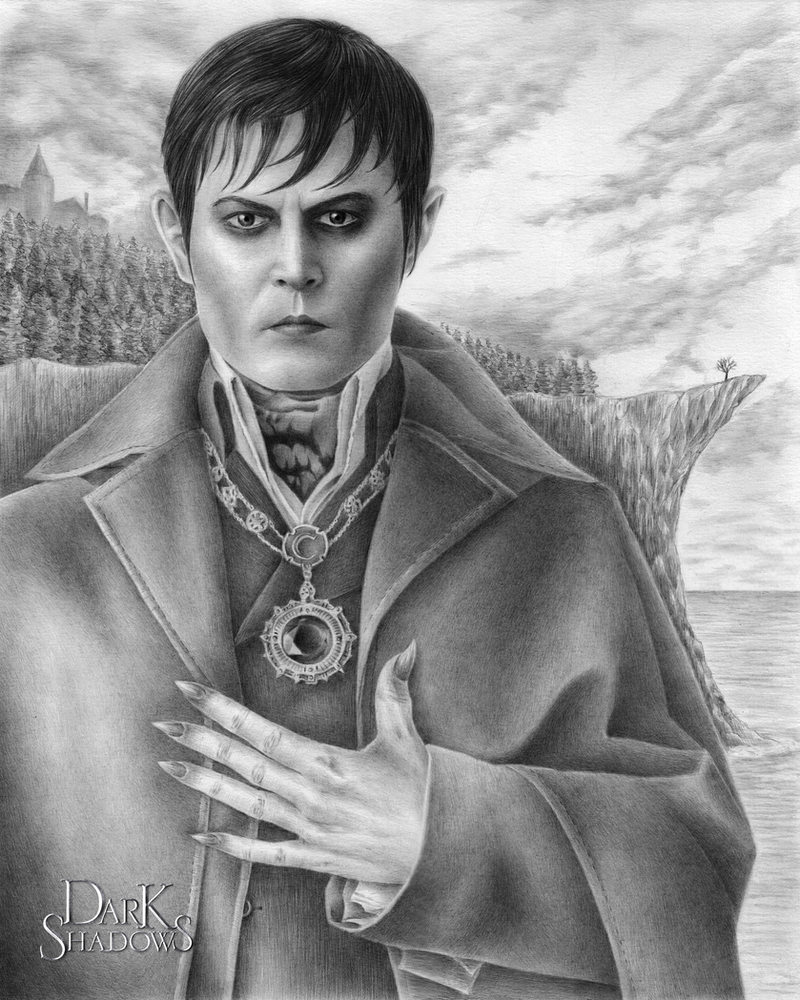 Johnny Depp is Barnabas Collins by kelch12