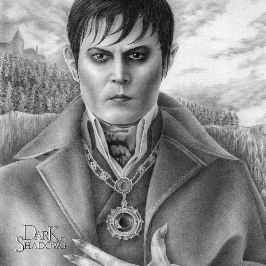 Johnny Depp is Barnabas Collins - Square by kelch12