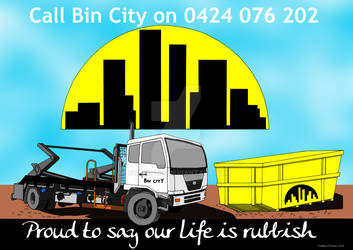 Bin City Promotional Poster