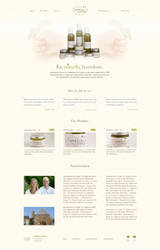 Baby lotions' website by simplexmedia