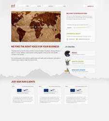 Paprikaductions website by simplexmedia