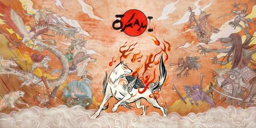 Okami: War by luffie