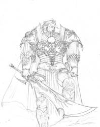 Fulgrim Sketch by luffie