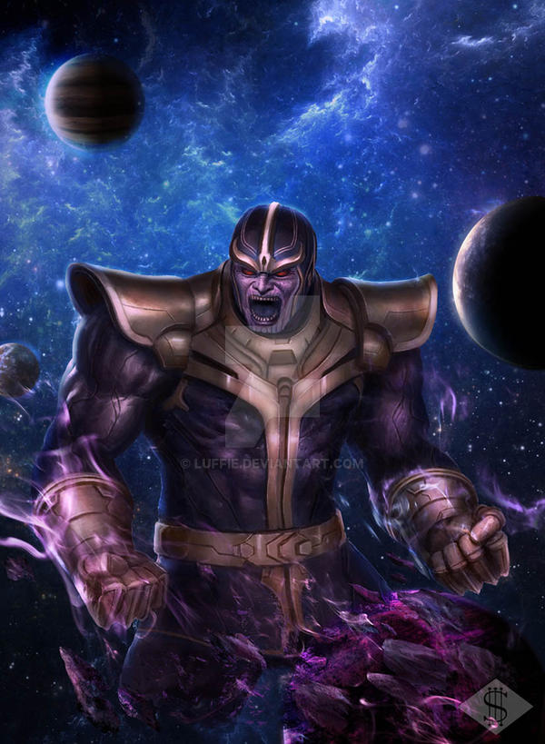 Thanos Supreme by luffie