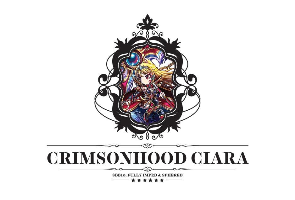 Crimsonhood Ciara Postcard by luffie