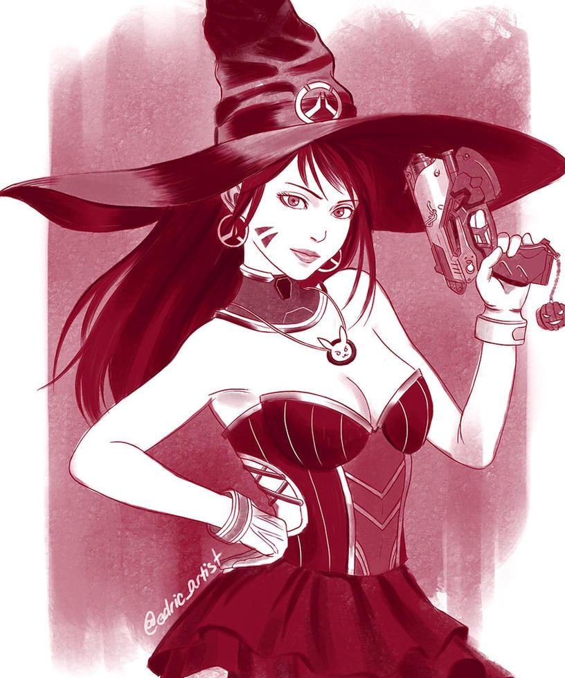 halloween dva by luffie on deviantart