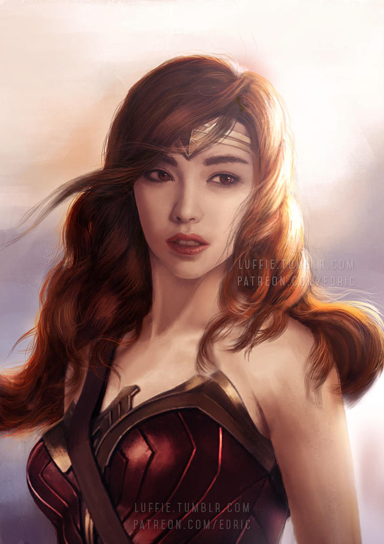 Asian Wonder Woman by luffie