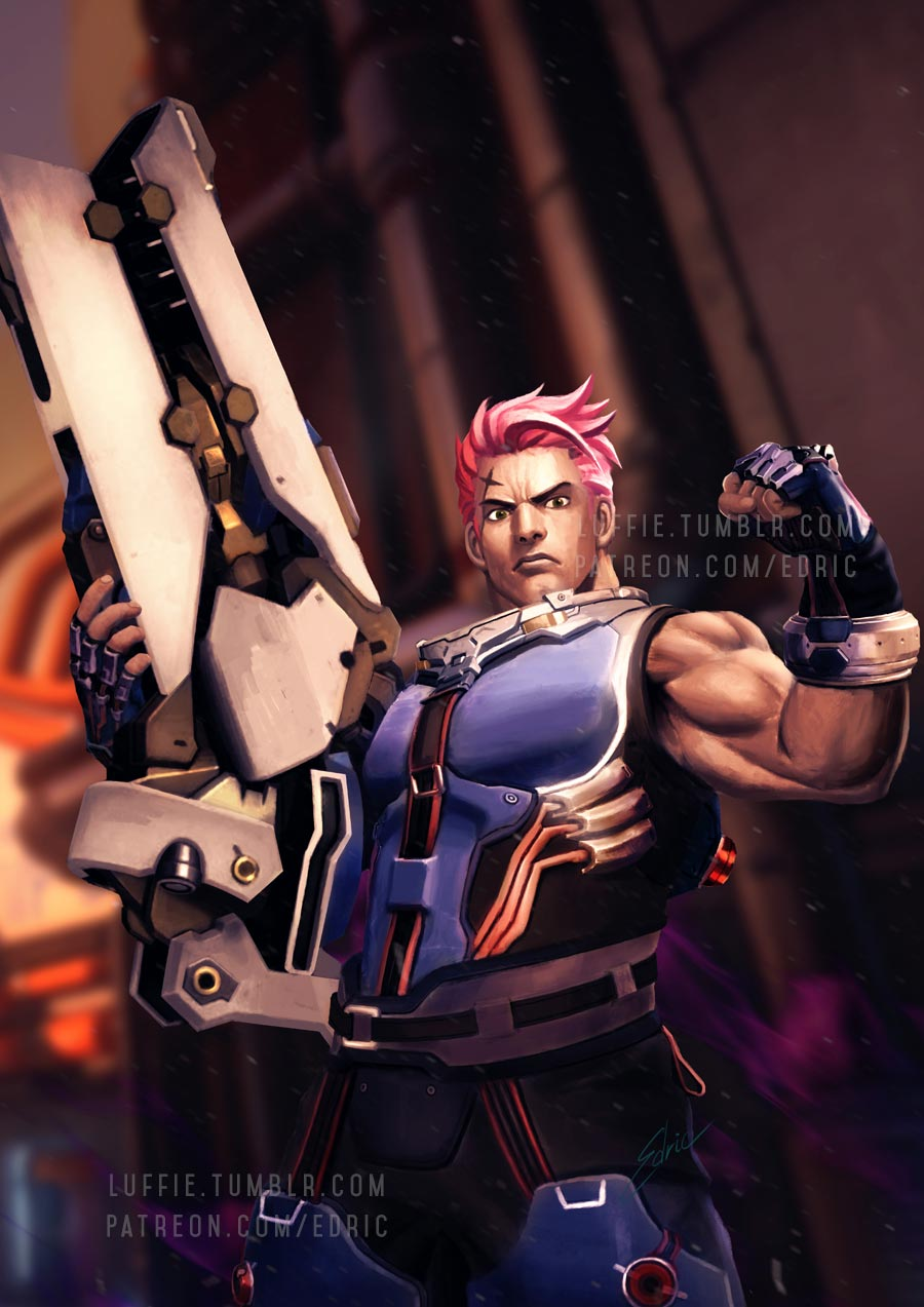Zarya Macho Version by luffie