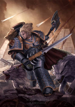 Leman Russ The Wolf King