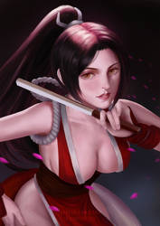Mai Shiranui by luffie