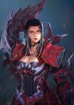 Twizz Fem Roe warrior - FFXIV Commission