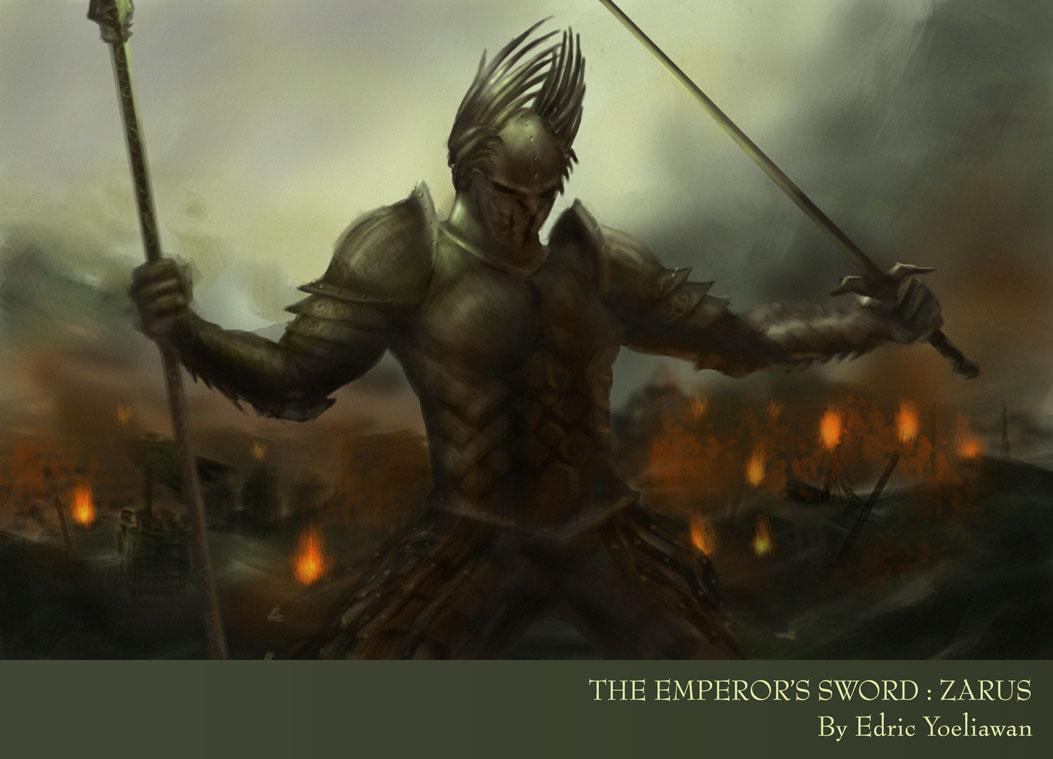 Emperor's Swords Zarus by luffie
