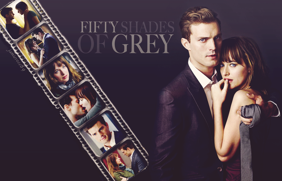 Fifty shades of grey wallpaper by jamierose89 on deviantart for Movie the fifty shades of grey