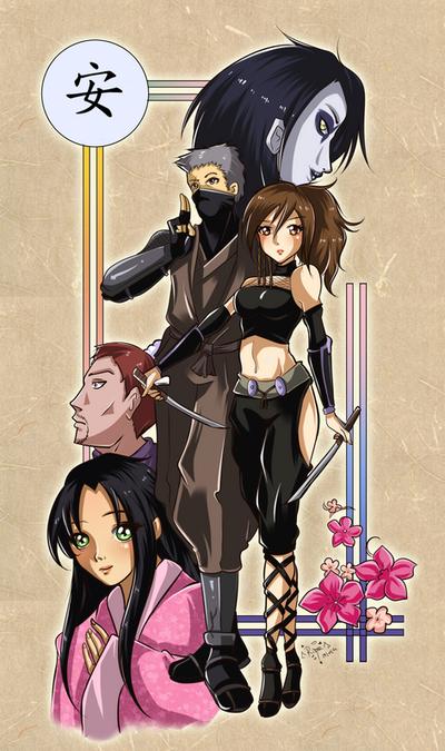 Tenchu - Stealth Assassin by DarkRinoa88